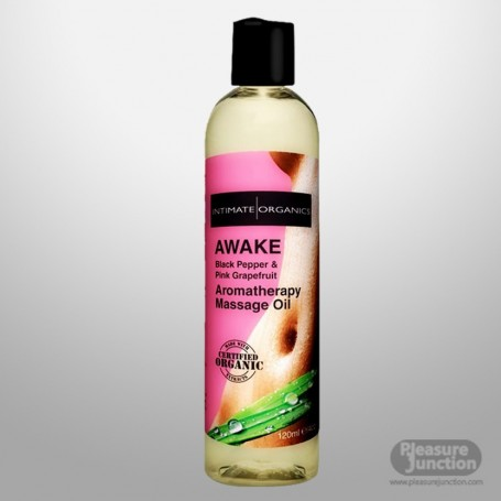 AWAKE AROMATHERAPY MASSAGE OIL - Black Pepper 120ml CGS-015