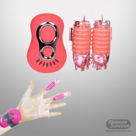 7 speed Secret Love Finger Vibrator for Woman BV-012
