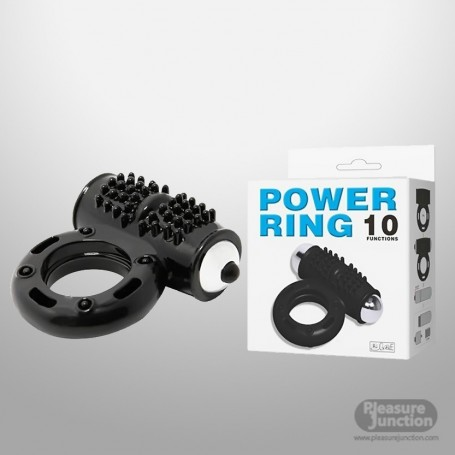 pretty love black power ring CR-021