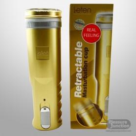LETEN Retractable Male Stroker Cup MS-037